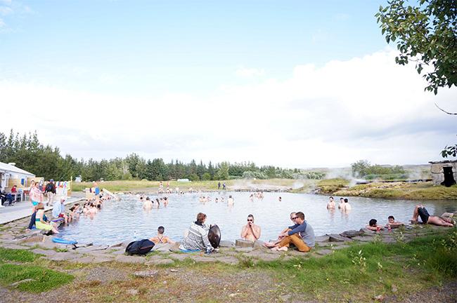 フルージルという町にあるSecret Lagoonという温泉。